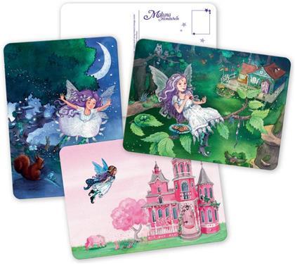 Maluna Mondschein Postkartenbuch - 20 glitzernde Maluna Postkarten