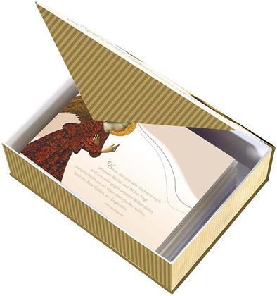 Himmlische Botschaften Postkartenbox / 30 Motive