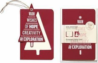 Ornament Note Card Pocket Wishing Tree