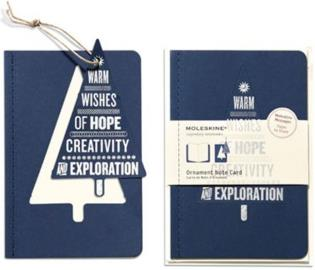 Ornament Note Card Large Wishing Tree - 10 Cards