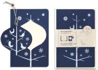 Ornament Note Card Large Mockingbirds