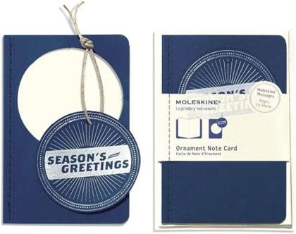 Ornament Note Card Pocket Season Seal