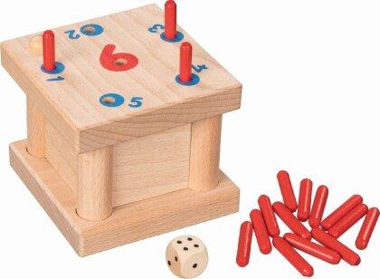 Steckspiel Die verflixte 6 (Kinderspiel)