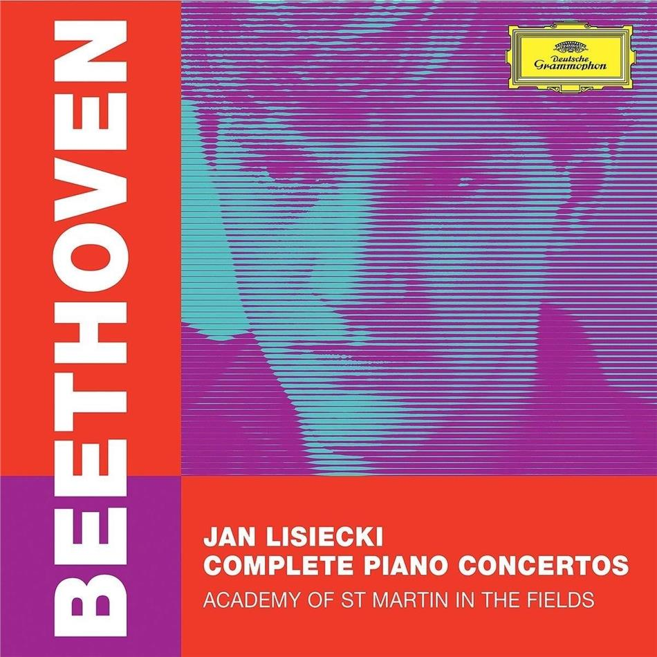 Ludwig van Beethoven (1770-1827) & Jan Lisiecki - Complete Piano Concertos (3 CDs)