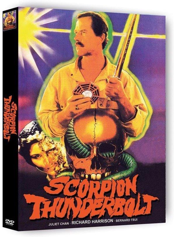 Scorpion Thunderbolt (1988) (Cover B, Edizione Limitata, Mediabook, Uncut, 2 DVD)