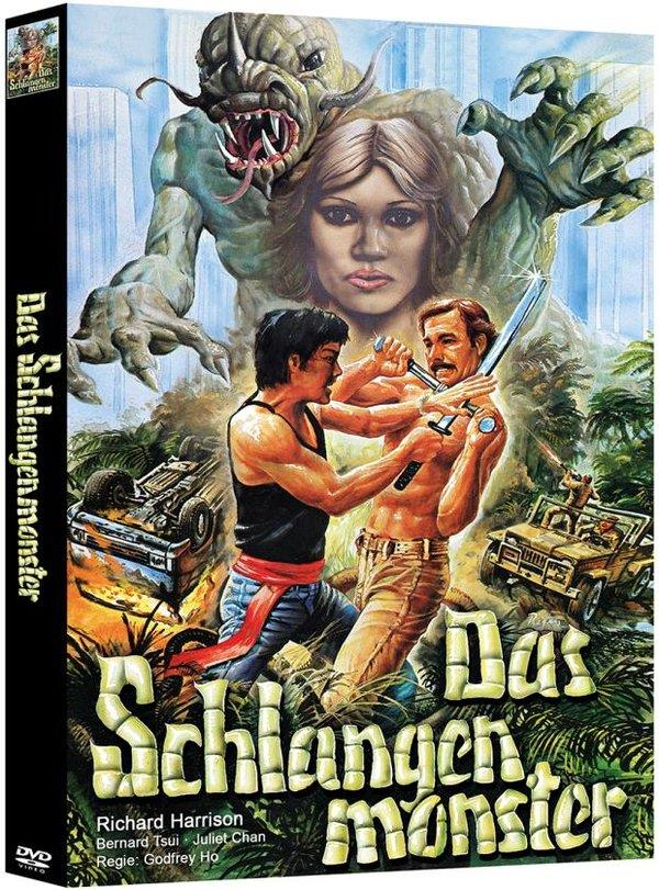 Das Schlangenmonster (1988) (Cover A, Edizione Limitata, Mediabook, Uncut, 2 DVD)