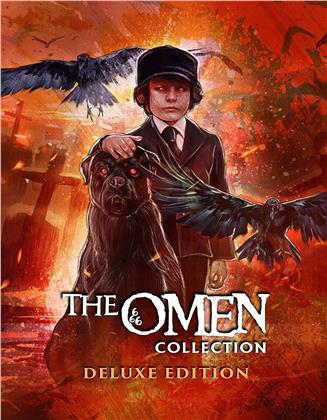 The Omen Collection (Deluxe Edition, 5 Blu-ray)