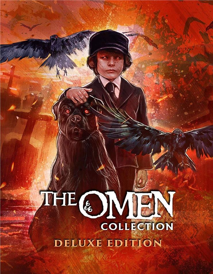 The Omen Collection (Deluxe Edition, 5 Blu-rays)