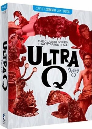 Ultra Q - Complete Series (n/b, 4 Blu-ray)