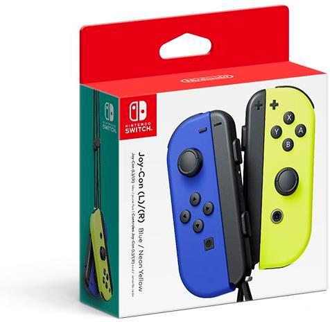 Joy-Con 2-Pack - blue/neon yellow
