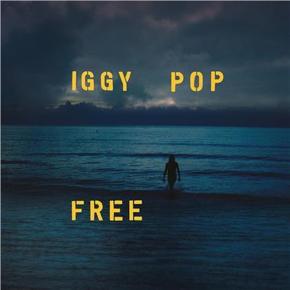 Iggy Pop - Free (Limited, Deluxe Edition, Ocean Blue Vinyl, LP)