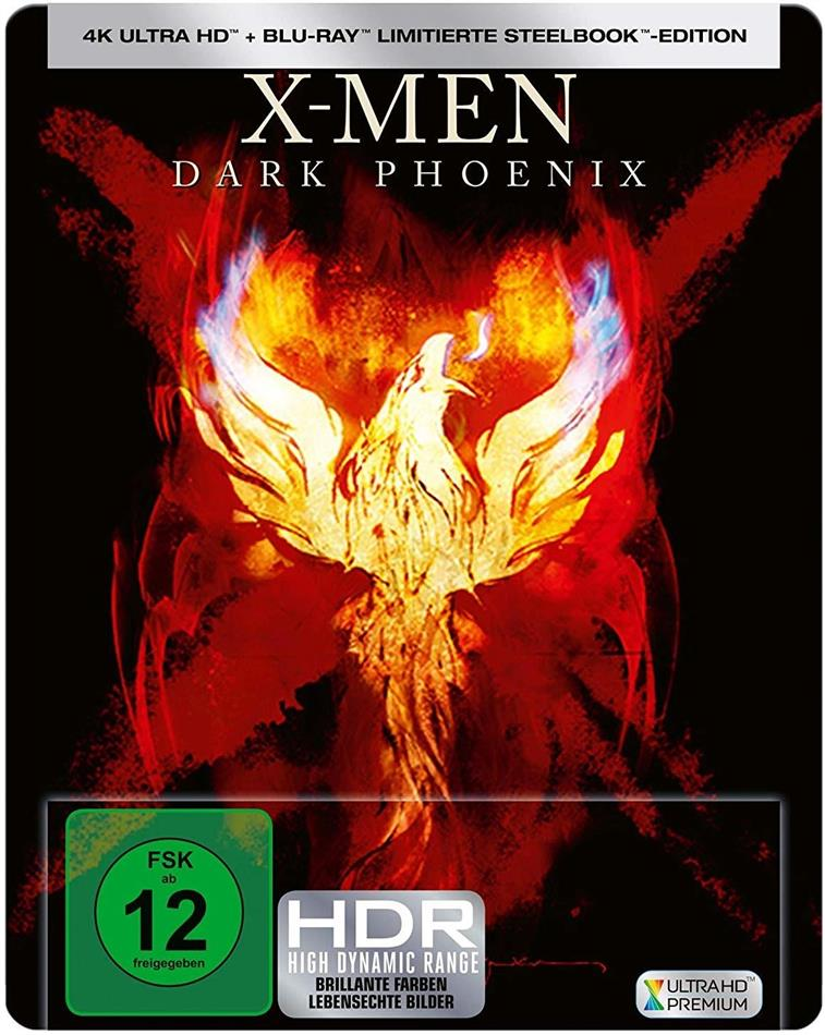 X-Men: Dark Phoenix (2019) (Limited Edition, Steelbook, 4K Ultra HD + Blu-ray)