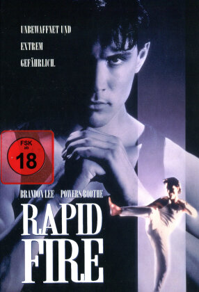Rapid Fire (1992) (Cover B, Edizione Limitata, Mediabook, Blu-ray + DVD)
