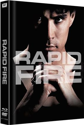 Rapid Fire (1992) (Cover C, Edizione Limitata, Mediabook, Blu-ray + DVD)
