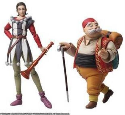 Square Enix - Dragon Quest Xi Bring Arts Sylvando & Rab Af Set