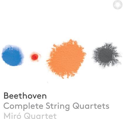 Miro Quartet & Ludwig van Beethoven (1770-1827) - Streichquartette (SACD + 3 CDs)