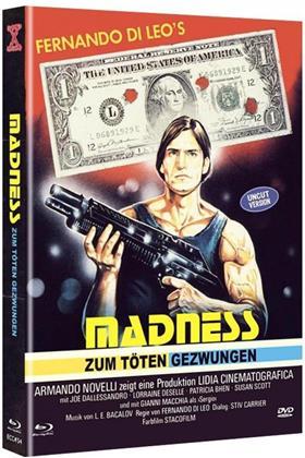 Madness - Zum töten gezwungen (1980) (Cover D, Limited Edition, Mediabook, Uncut, Blu-ray + DVD)