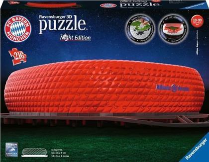 Allianz Arena bei Nacht - 216 Teile 3D-Puzzle
