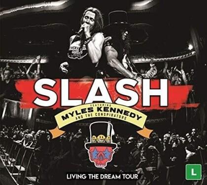 Slash - Living The Dream -Live (3 DVDs)