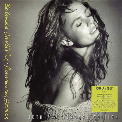 Belinda Carlisle - Runaway Horses (2019 Reissue, 30th Anniversary Edition, White Vinyl, 4 LPs + CD)
