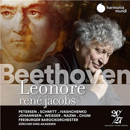 Ludwig van Beethoven (1770-1827), Rene Jacobs & Freiburger Barockorchester - Leonore (2 CDs)