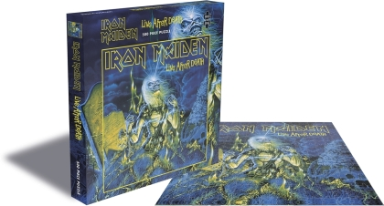 Iron Maiden - Live After Death (500 Piece Jigsaw Puzzle)