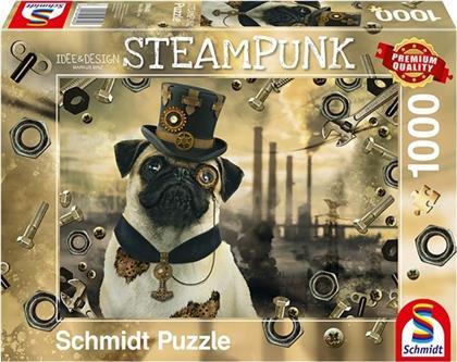 Steampunk Hund - 1000 Teile Puzzle