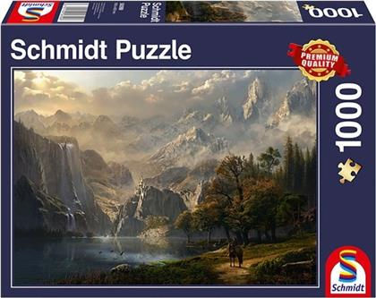 Wasserfall-Idylle - 1000 Teile Puzzle