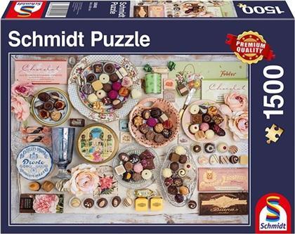 Nostalgie-Schokoladen - 1500 Teile Puzzle