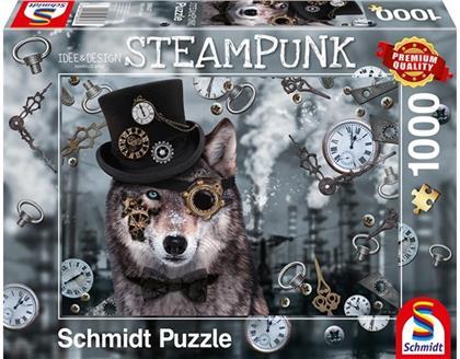 Steampunk Wolf - 1000 Teile Puzzle