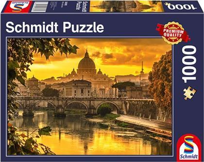 Goldenes Licht über Rom - 1000 Teile Puzzle