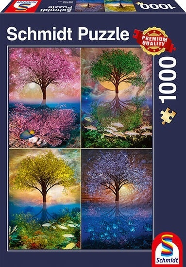Zauberbaum am See - 1000 Teile Puzzle