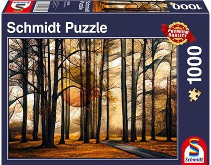 Magischer Wald - 1000 Teile Puzzle
