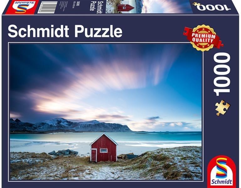 Hütte an der Atlantikküste - 1000 Teile Puzzle