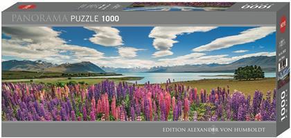 Lake Tekapo - 1000 Teile Panorama Puzzle