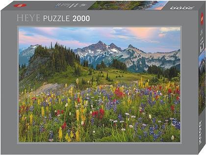 Tatoosh Mountains - 2000 Teile Puzzle