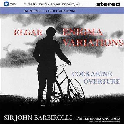 Sir Edward Elgar (1857-1934), Sir John Barbirolli & Philharmonia Orchestra London - Enigma Variationen / Cockaigne-Overtüre (LP)
