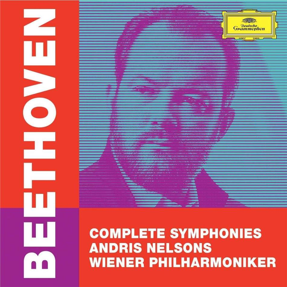 Ludwig van Beethoven (1770-1827) & Andris Nelsons - Complete Symphonies (+ DVD Audio Only, 5 CDs + DVD)