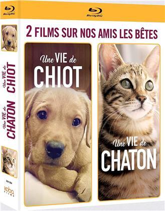 Une vie de chiot / Une vie de chaton (2 Blu-rays)