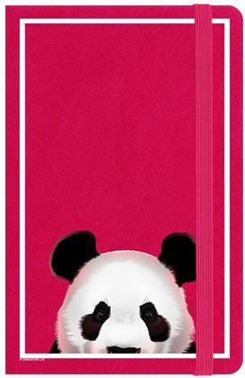 Inquisitive Creatures - Panda - A6 Hard Cover Notebook