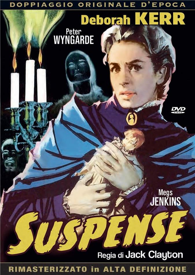 Suspense (1961) (Doppiaggio Originale D'epoca, HD-Remastered, s/w, Neuauflage)