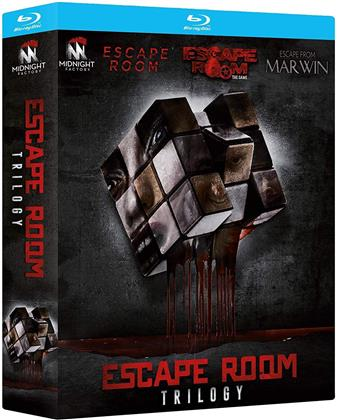 Escape Room Trilogy - Escape Room; Escape Room - The Game; Escape from Marwin (3 Blu-ray)