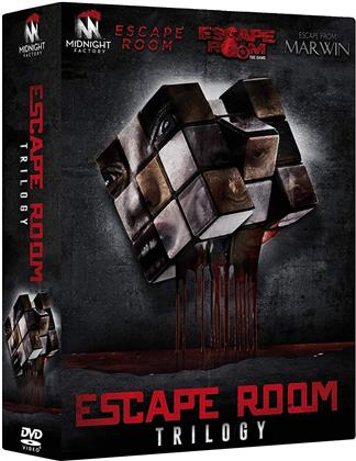Escape Room Trilogy - Escape Room; Escape Room - The Game; Escape from Marwin (3 DVD)