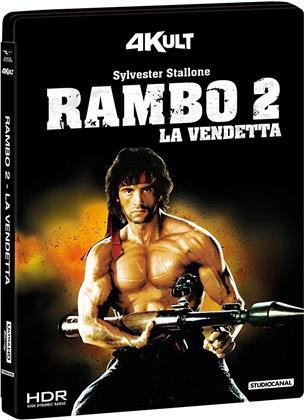 Rambo 2 - La vendetta (1985) (4Kult, 4K Ultra HD + Blu-ray)
