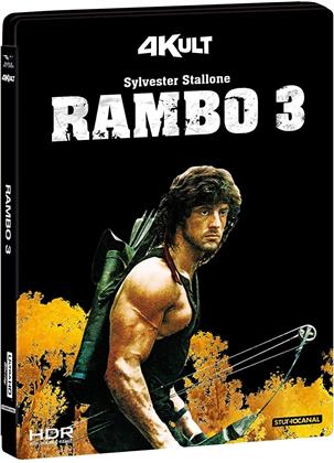 Rambo 3 (1988) (4Kult, 4K Ultra HD + Blu-ray)