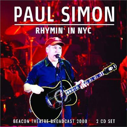Paul Simon - Rhymin' In Nyc (2 CDs)