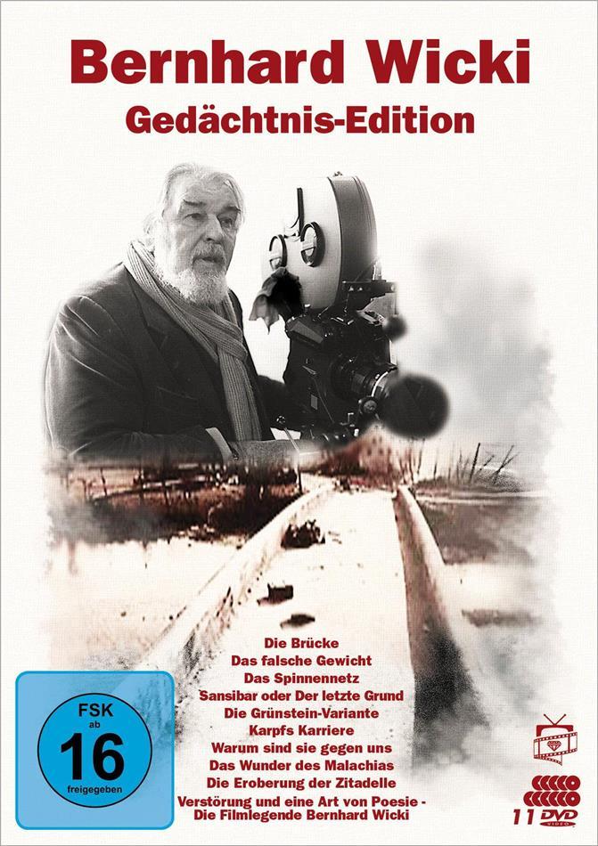 Bernhard Wicki - Gedächtnis-Edition (Filmjuwelen, 10 DVD)