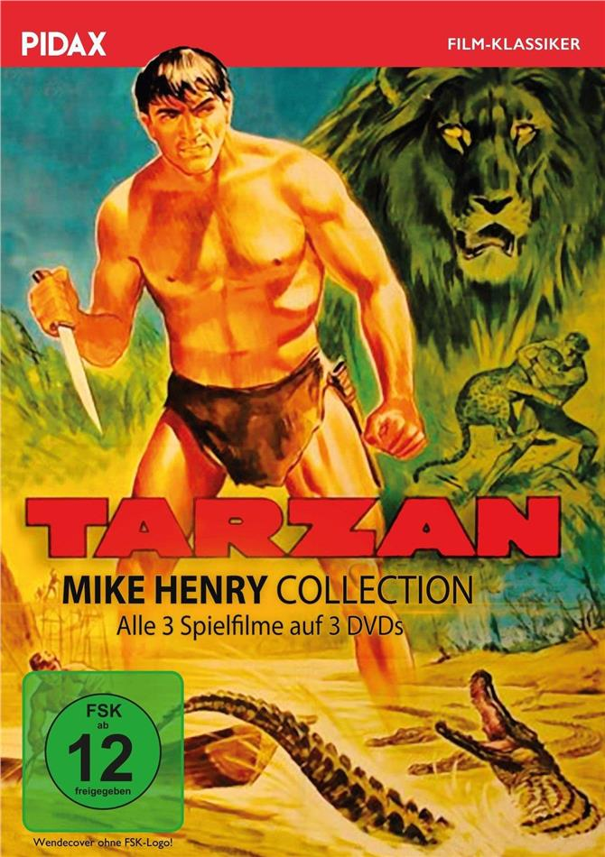 Tarzan (Pidax Film-Klassiker, Mike Henry Collection, 3 DVDs)