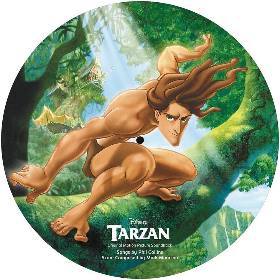 Phil Collins - Tarzan - OST - Disney (2019 Reissue, Picture Disc, LP)