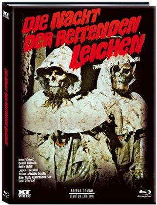 Die Nacht der reitenden Leichen (1972) (Cover A, Limited Edition, Mediabook, Blu-ray + DVD)